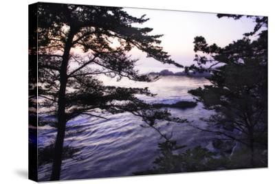 Carmel Highlands Sunset I-Alan Hausenflock-Stretched Canvas Print