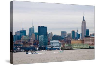 NYC Pier 57 II-Erin Berzel-Stretched Canvas Print
