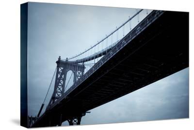 Manhattan Bridge I-Erin Berzel-Stretched Canvas Print