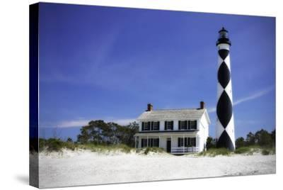 Cape Lookout Light I-Alan Hausenflock-Stretched Canvas Print