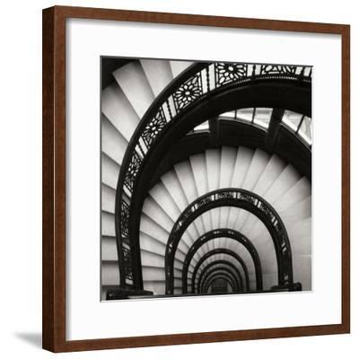 Rookery Stairwell Sq-Jim Christensen-Framed Premium Photographic Print