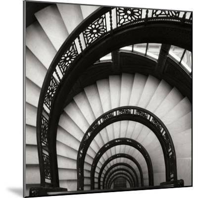 Rookery Stairwell Sq-Jim Christensen-Mounted Premium Photographic Print