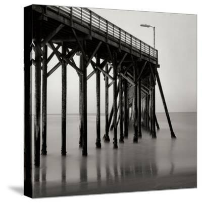 Pier Pilings 20-Lee Peterson-Stretched Canvas Print