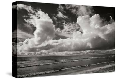 Clouds at the Beach-Lee Peterson-Stretched Canvas Print