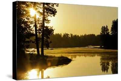 Winchester Lake II-Bob Stefko-Stretched Canvas Print