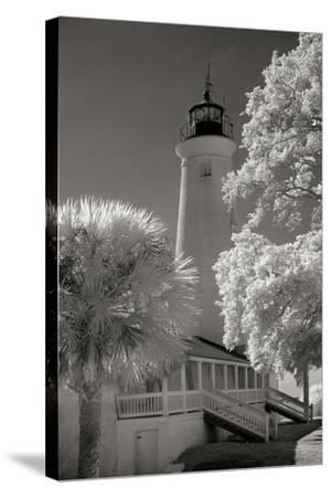 St. Marks Lighthouse-George Johnson-Stretched Canvas Print
