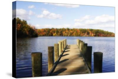 Greenwood Lake II-Alan Hausenflock-Stretched Canvas Print