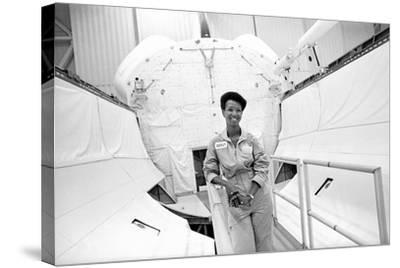 Mae Jemison-Michael Cheers-Stretched Canvas Print
