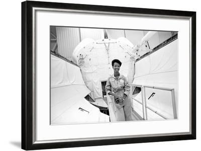 Mae Jemison-Michael Cheers-Framed Photographic Print