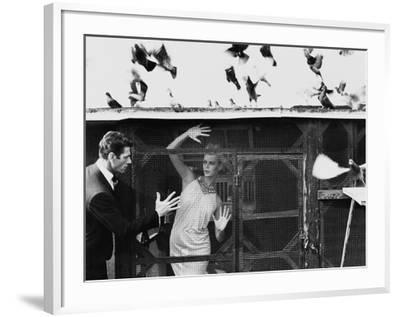 Vogue - July 1962-Bert Stern-Framed Premium Photographic Print
