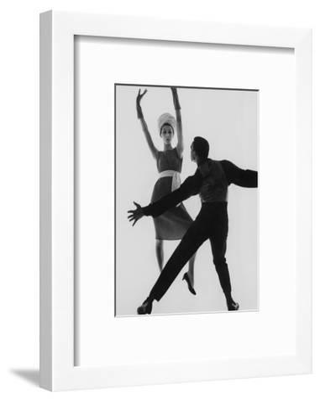 Vogue - February 1961-Bert Stern-Framed Premium Photographic Print