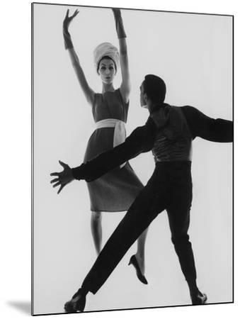 Vogue - February 1961-Bert Stern-Mounted Premium Photographic Print