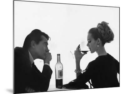 Vogue - April 1962-Bert Stern-Mounted Premium Photographic Print