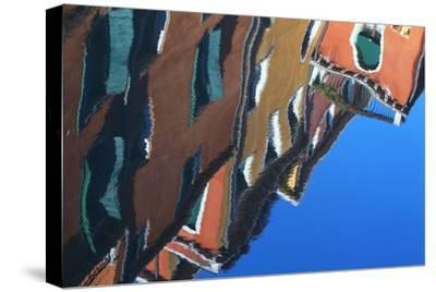 Buildings Reflecting On the Surface of the Canal Water-Joe Petersburger-Stretched Canvas Print