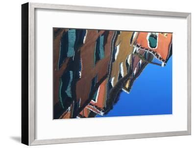 Buildings Reflecting On the Surface of the Canal Water-Joe Petersburger-Framed Photographic Print