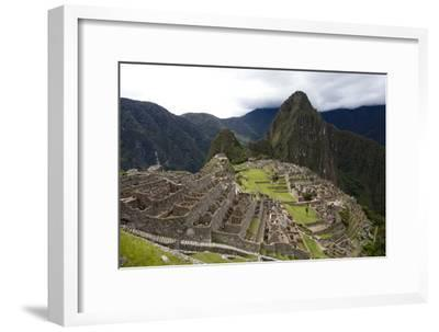 The Ruins At Machu Picchu-Kent Kobersteen-Framed Photographic Print