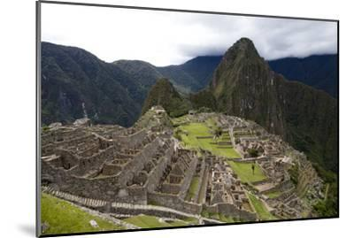 The Ruins At Machu Picchu-Kent Kobersteen-Mounted Photographic Print