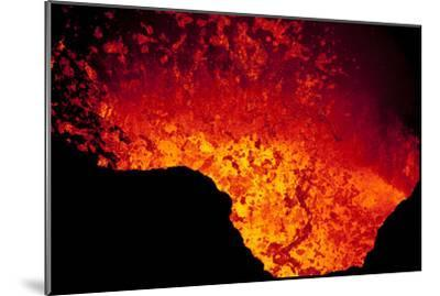 Lava Lake At Marum Crater-Ulla Lohmann-Mounted Photographic Print