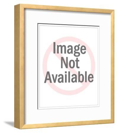 Male Pianist-Pop Ink - CSA Images-Framed Art Print