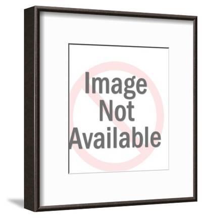 Airplane Captain Saluting-Pop Ink - CSA Images-Framed Art Print