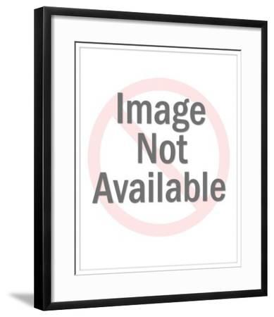 Fresh Vegetables and Utensils-Pop Ink - CSA Images-Framed Art Print
