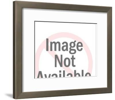 Couple in Front of New House-Pop Ink - CSA Images-Framed Art Print