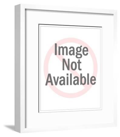 Couple Embracing-Pop Ink - CSA Images-Framed Art Print