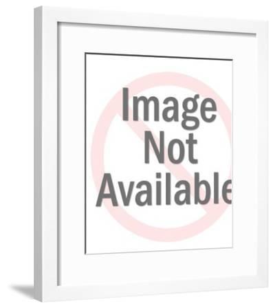 Rooster Crowing-Pop Ink - CSA Images-Framed Art Print