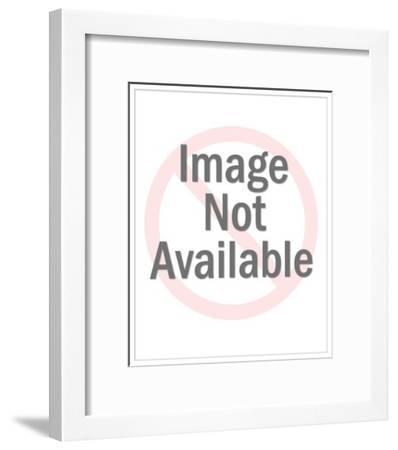 Grandfather-Pop Ink - CSA Images-Framed Art Print