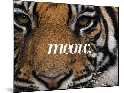 Meow-Thorsten Milse-Mounted Art Print