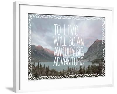 Big Adventure-Chuck Haney-Framed Art Print