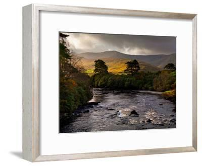 The Erriff River in County Mayo-Chris Hill-Framed Photographic Print