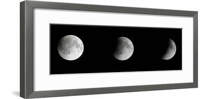 Composite Telescopic Sequence of Moon Phases Leading to a Total Eclipse-Steve And Donna O'Meara-Framed Photographic Print