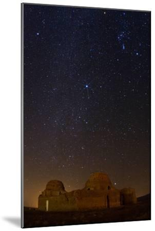 Sirius, Canopus, and Orion Over 1600-year-old Sasan Palace Ruins-Babak Tafreshi-Mounted Photographic Print