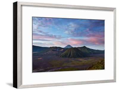 Mount Bromo Volcano and Bromo Tengger Semeru National Park-Alex Saberi-Framed Photographic Print