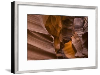 Antelope Canyon-John Burcham-Framed Photographic Print