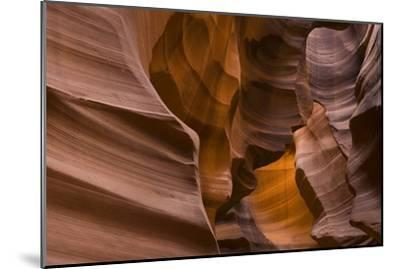 Antelope Canyon-John Burcham-Mounted Photographic Print