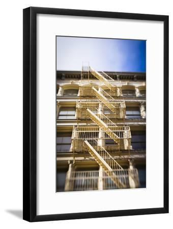 Architecture in the SoHo, Cast Iron Historical District of New York-Keith Barraclough-Framed Photographic Print