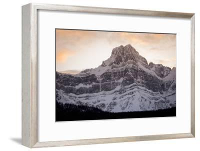 The Imposing North Face of Howse Peak in the Waputik Range of the Canadian Rocky Mountains-Cory Richards-Framed Photographic Print