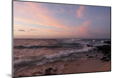 Sunrise on the Beach at Poipu Beach-Marc Moritsch-Mounted Photographic Print
