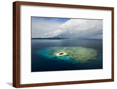 Coral Reefs and Islets Off Nadi Island-Mattias Klum-Framed Photographic Print