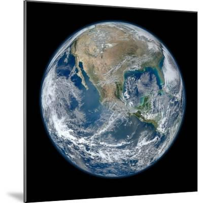 Earth Taken From Suomi NPP, NASA's Earth-observing Satellite--Mounted Photographic Print