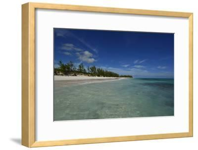 Tranquil Waters on Eleuthera Beach-Raul Touzon-Framed Photographic Print