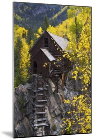 A Mill on a Rock Promontory Above the Crystal River-Robbie George-Mounted Photographic Print