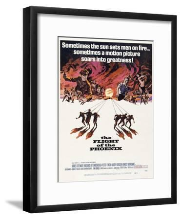 The Flight of the Phoenix, 1965, Directed by Robert Aldrich--Framed Giclee Print