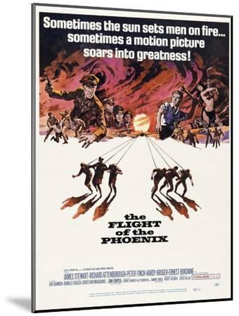 The Flight of the Phoenix, 1965, Directed by Robert Aldrich--Mounted Giclee Print