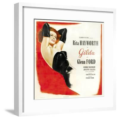 Gilda, 1946, Directed by Charles Vidor--Framed Giclee Print