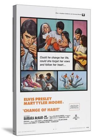 Change of Habit, 1969--Stretched Canvas Print