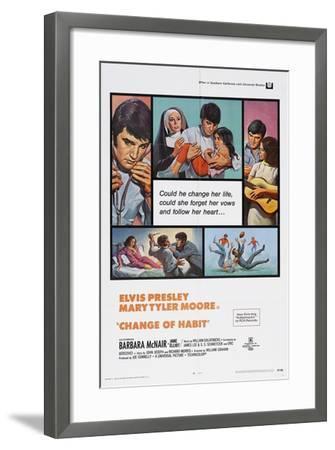 Change of Habit, 1969--Framed Giclee Print