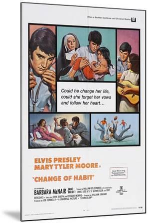 Change of Habit, 1969--Mounted Giclee Print